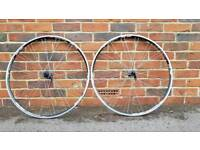 Road Bike wheels 700C B'twin