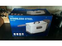 Deep fat fryer, 3 litre, stainless steel