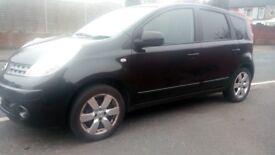 Nissan Note 1.4 Manal, 72k miles