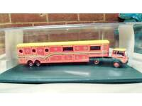 A model 1.76 scale circus lorry.