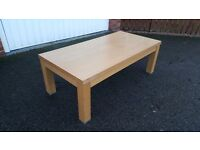 Oak Coffee Table FREE DELIVERY (04668)