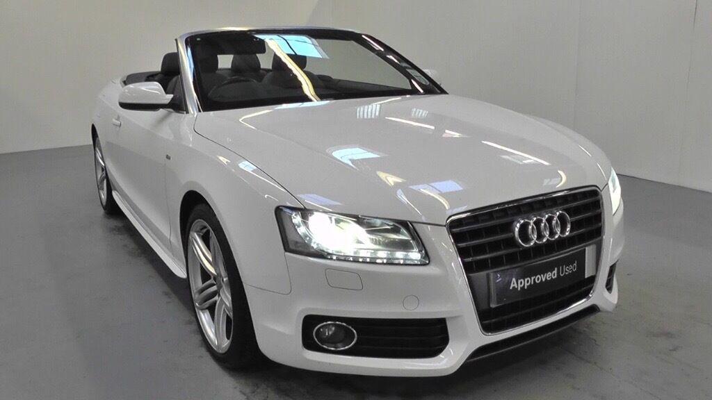 White Audi A Cabriolet Convertible Litre Diesel For Sale - Audi convertible for sale