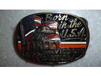 Harley Davidson Motorcycles belt buckle
