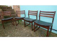 4 kitchen / diner chairs G plan
