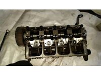 SKODA FABIA VRS CYLINDER HEAD WITH CAM SHAFT AND INJECTOR LOOMS.