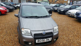 2006 Fiat panda 1.4 16v 100 HP 5dr, Hpi Clear,.6 speed,cheap tax and insurance,ideal for new drivers