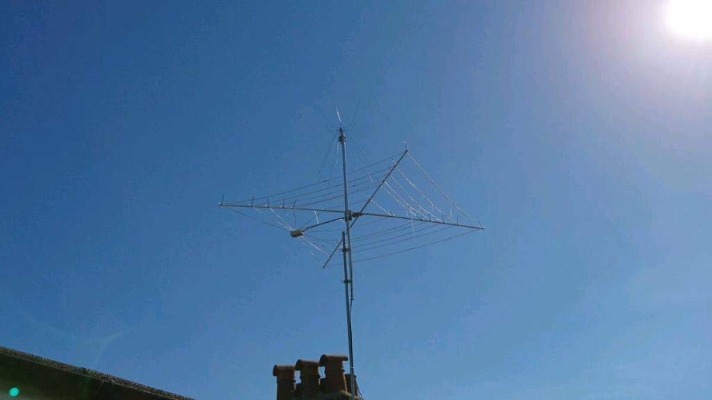 7 BAND COBWEB HF ANTENNA FROM 6 TO 20 METERS | in Paignton, Devon ...