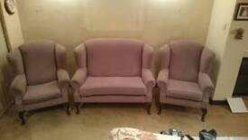 2. Seater Sofa and 2 Armchairs