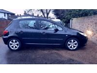 PEUGEOT 307 HATCHBACK 1 PREVIOUS OWNER AND LONG MOT