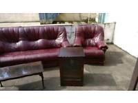 Starter furniature sofa coffee table cabinet armchairs