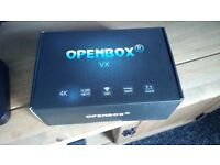 Open box with extras