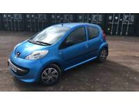 Peugeot 107 cheap tax and insurance