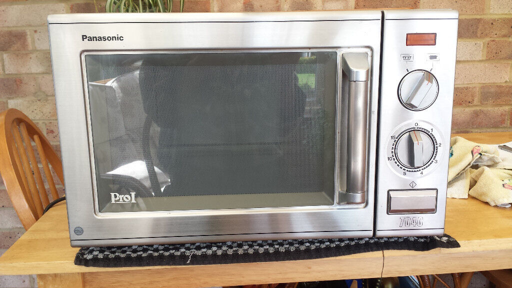 Stainless Steel Microwave In Bognor Regis West Sussex