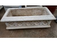 Large Concrete Planter/Trough