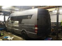 2007 sprinter 315 twin turbo unfinished race camper project