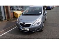 2011 60 REG VAUXHALL MERIVA 1.4 VVT LOW MILEAGE. NOT ASTRA CORSA FOCUS GOLF DELIVERY AVAILABLE