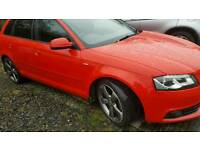 Audi A3 s line special edition (not vw golf seat Leon 1 series )