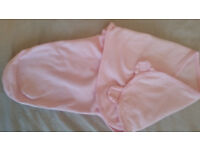 Selection of swaddle wraps and sleeping bags