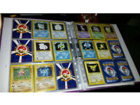 Pokemon cards - Near complete base set holos incl Blastoise, Chansey, Nidoking, Raichu and more