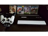 ps3 sony playstation 3 ps3 500gb with games