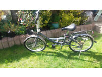 Quality Ridgeback Folding Bicycle - Commuter Bike