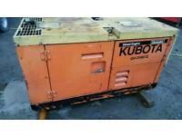 Diesel generator 3 phase single phase kubota