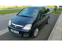 Vauxhall Meriva Black 1.4 16V FSH 12 Months MOT £795