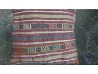 Kilim cushions x2 handmade authentic carpet Turkish