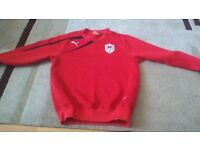 Boys Cardiff City Jumper age9-10 years