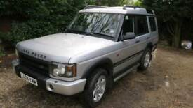 SOLD Td5 ES Premium 2004 - Excellent condition, seven seat, diesel automatic, MOT Aug 18