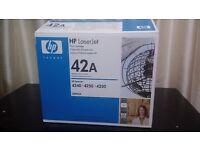 HP 42A TONER / INK CARTRIDGE NEW