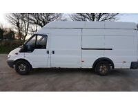 TRANSIT VAN JUMBO 2.4 SPARES OR REPAIR