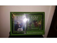 Golf DVD and BOOK set RRP £25.99