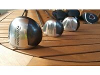 got many preowned golf clubs some golf bags best to come and have look!all items in good price