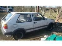 Volkswagen Golf mk2 2 door spares ir repairs