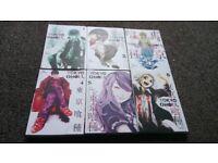Tokyo Ghoul Manga Volumes 1-6