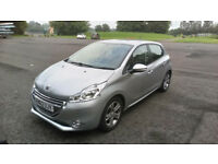 peugeot 208-reg 2012 -1.2 active, just £20 road tax for 12 months