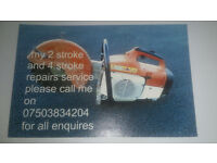 stihl repair service or any two stroke or four stroke repairs