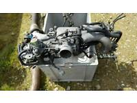 Subaru impreza 1995 Wrx type RA inlet manifold with 5th injector
