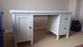 Ikea Hemnes Desk White Stain