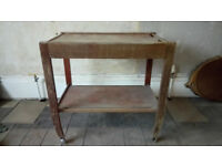 SOLID WOOD TEA / HOSTESS TROLLEY IDEAL RESTORATION PROJECT