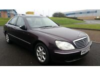 2003 [53] MERCEDES S320 CDI 95.000 MILES MOT FEB 2017 (PART EX WELCOME)