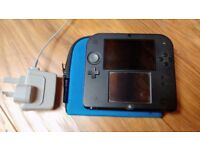 Nintendo 2DS with pokemon game