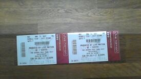 Two U2 Tickets - Sunday 9 July - Block L4, Row 12 - £350 (ovno) the pair