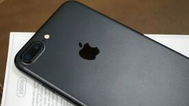 Very Good Condition UNLOCKED iPhone 7 Plus with 256GB in Matt Black - no box or accessories