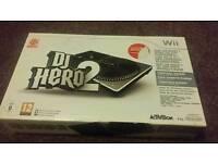 Nintendo wii DJ HERO DECK MIXER AND GAME