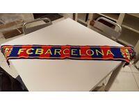 Barcelona Football Team Scarf