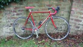 Retro Cougar steel frame road bike