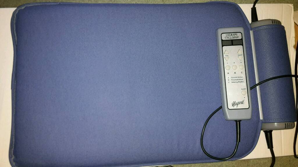 NHC Technology Ltd Niagara Cyclo-Therapy Pad perfect condition and working order - hardly used
