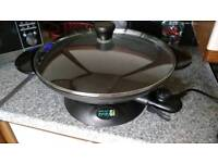 Large Electric Wok by Rosemary Conley